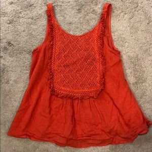 Volcom tank blouse size Small